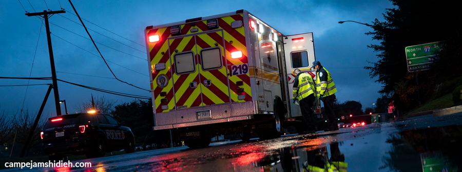 آمبولانس انتقال معتاد