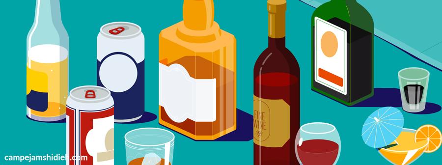 علائم مصرف الکل